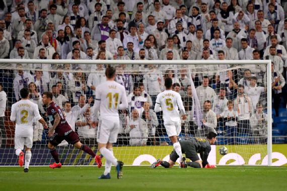 El Madrid igualó ante el Celta y perdió una chance de alejarse del Barcelona
