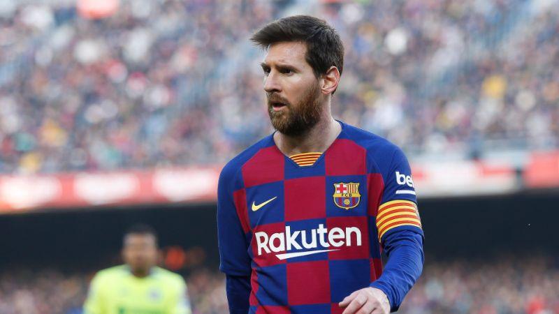 Sobre rumor de salida, Lionel Messi dice