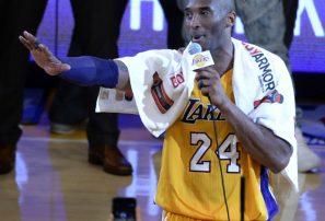 Subastan la toalla que Kobe Bryant usó durante discurso de despedida