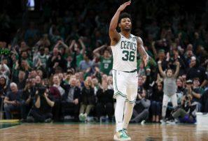 Marcus Smart, de los Celtics, fue dado de alta del coronavirus