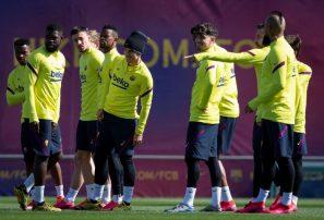 Futbolistas del Barcelona aceptan reducción del 70 por ciento salario