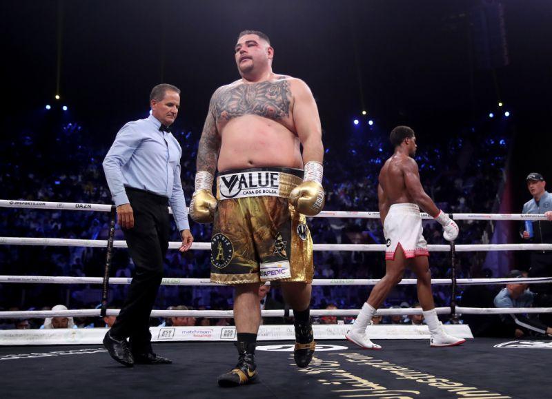 Andy Ruiz, los kilos de su ruina que lo encaminaron al fracaso