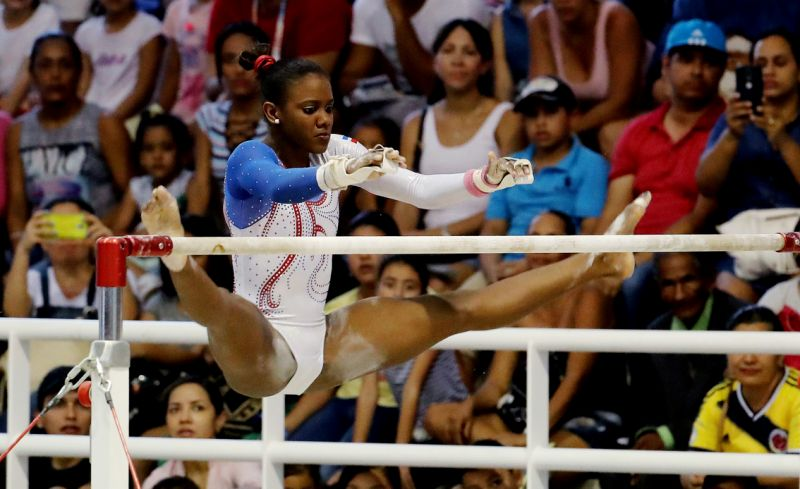Yamilet y la española Popa analizan sus experiencias como gimnastas