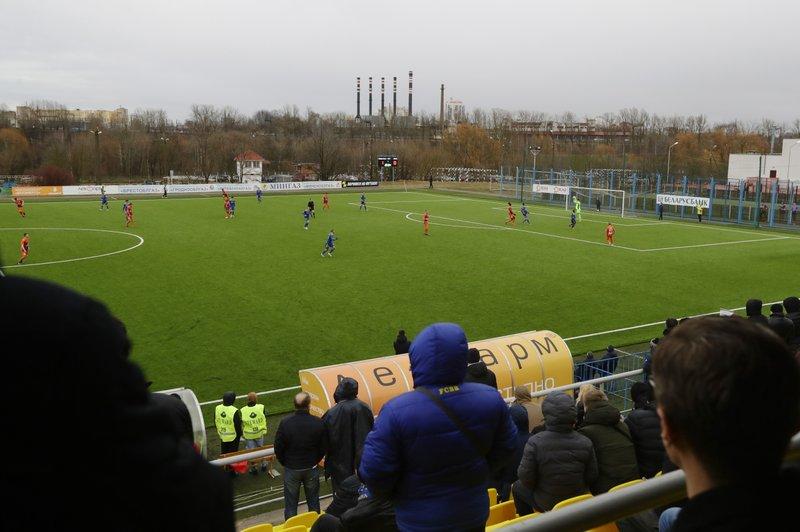 Futbolistas de liga bielorrusa preocupados por continuación de calendario
