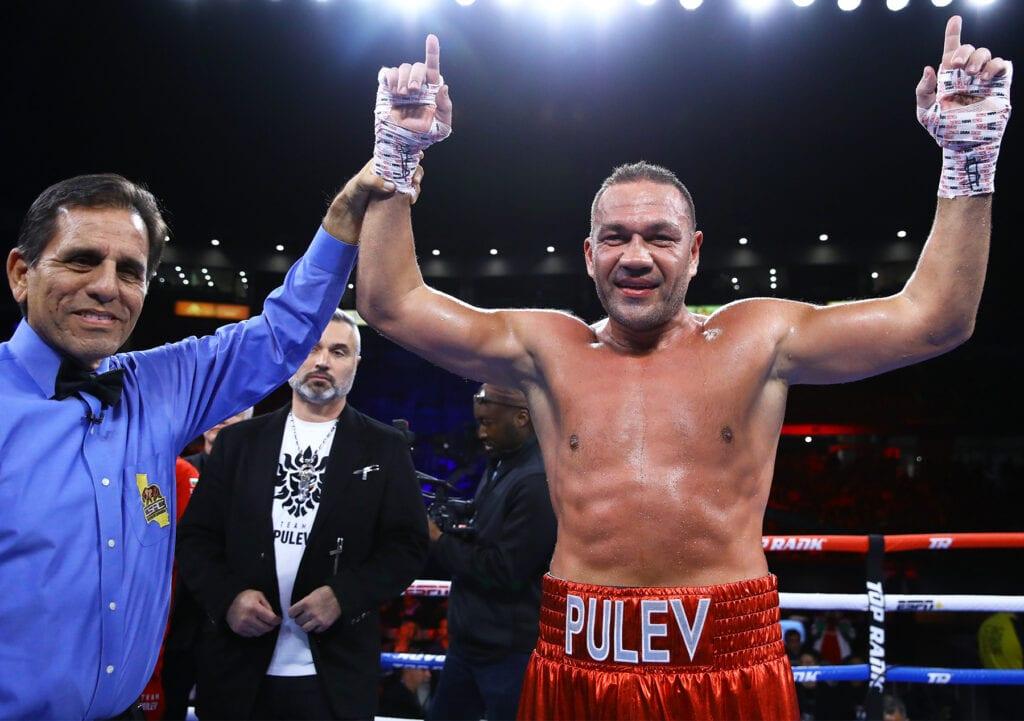 Kubrat Pulev donará la mitad de su sueldo de la pelea contra Joshua