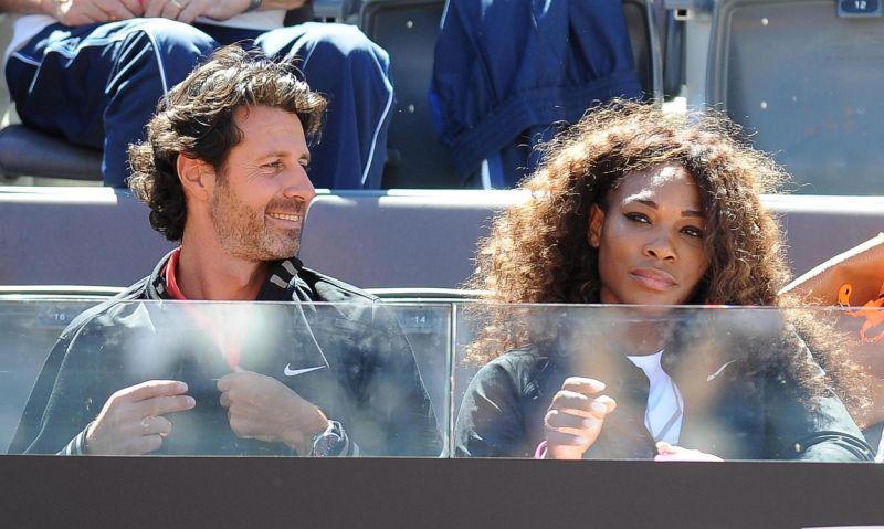 Entrenador de Serena crea un torneo con Fognini, Goffin y Paire