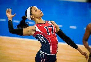 Voleibolista Gina Mambrú arriba este sábado al país desde Indonesia