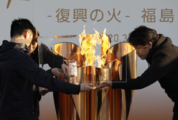 La llama olímpica de Tokio 2020 cierra al público tras alerta sanitaria