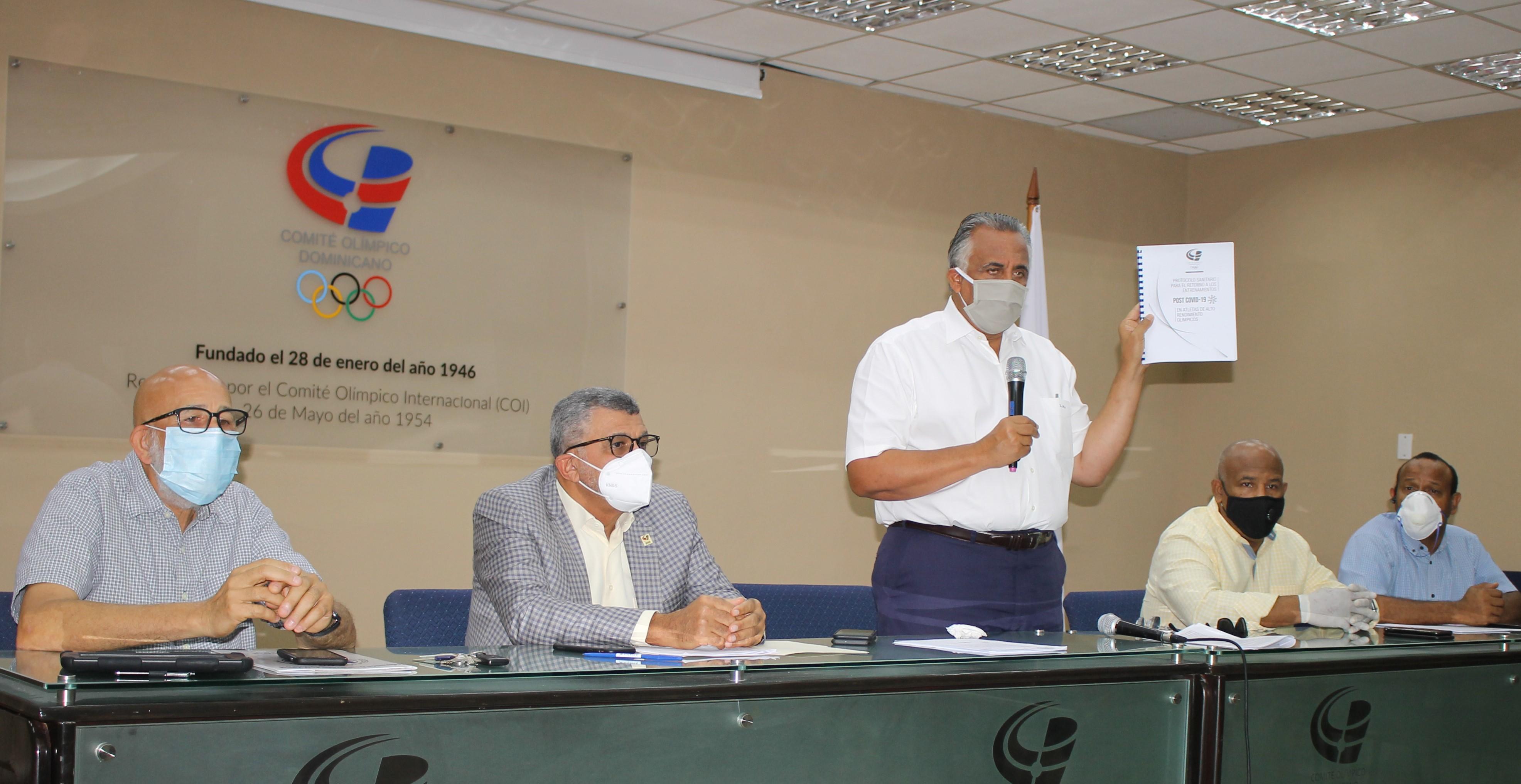 COD y Miderec presentan propuesta de protocolo COVID-19