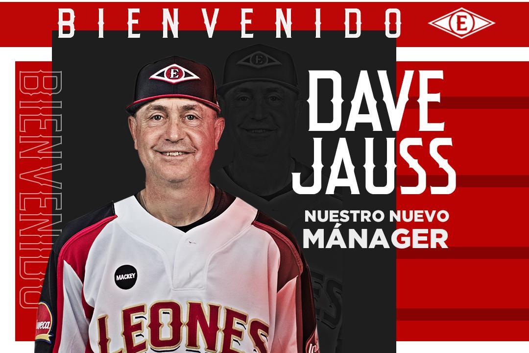 Dave Jauss ha sido nombrado dirigente de los Leones Escogido