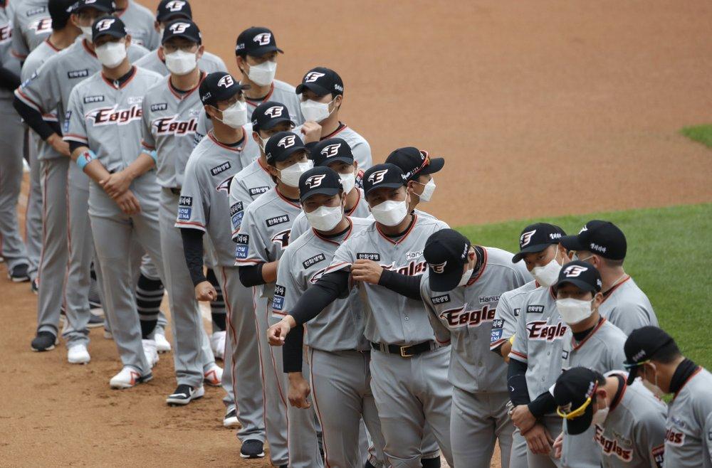 Béisbol de Corea arranca sin público