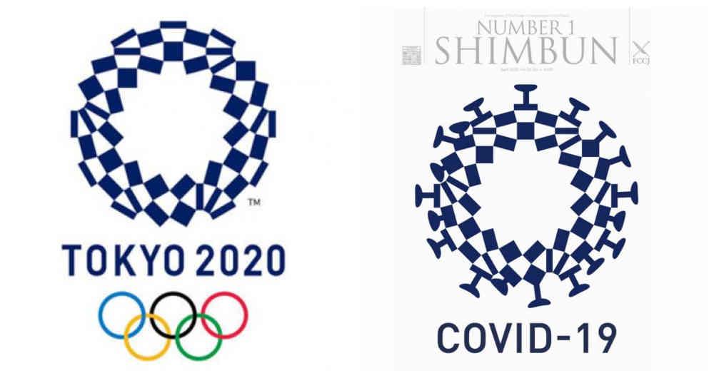 Polémica por un logo de Tokio-2020 similar a la imagen del coronavirus