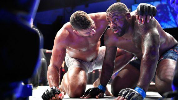 Alistair Overeem regresó para finalizar a Walt Harris en UFC