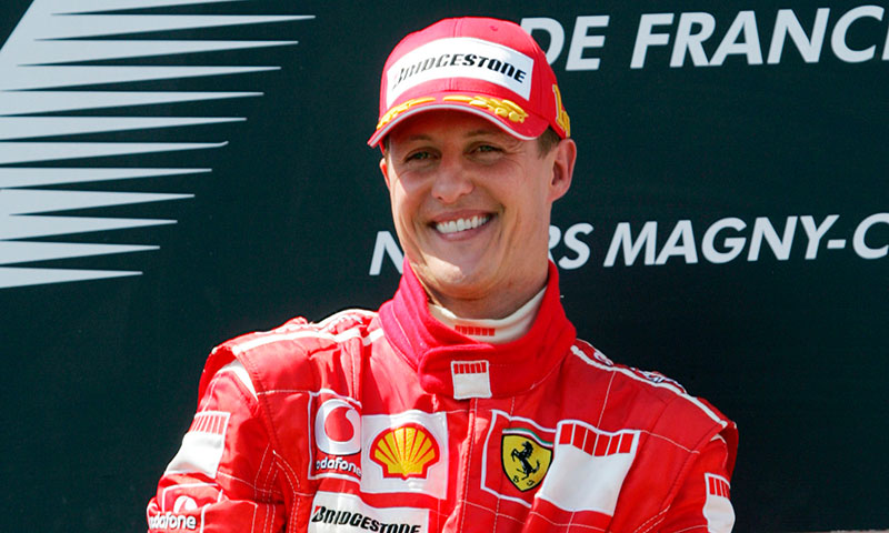 Michael Schumacher electo como la persona más influyente en la historia de la F1