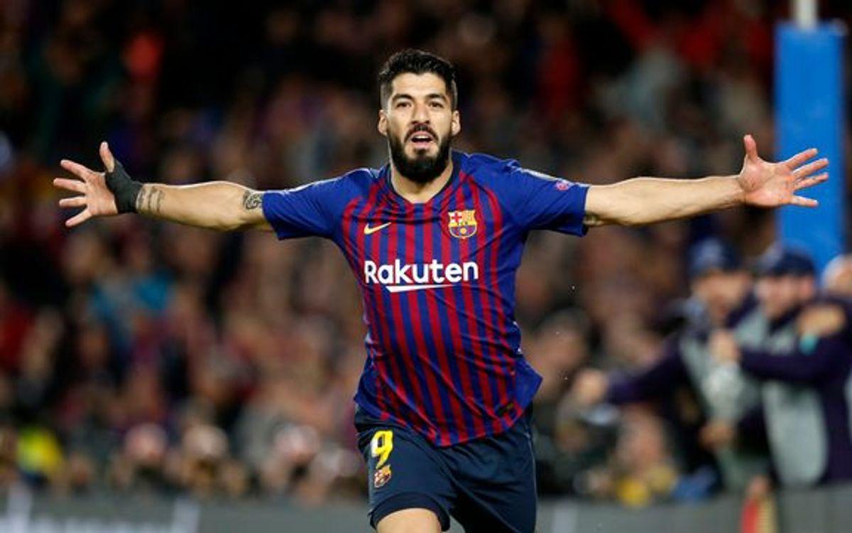 Barcelona someterá a revisión médica la rodilla de Luis Suárez