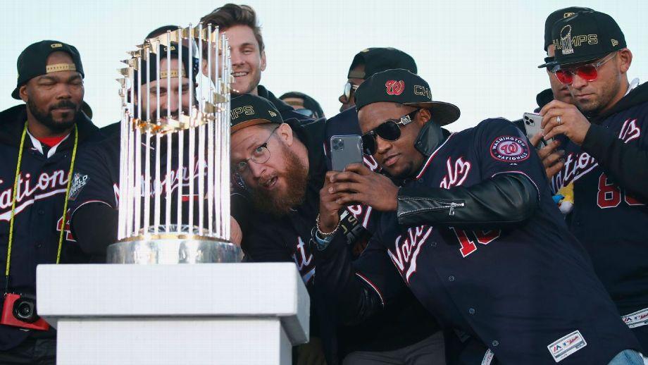 Nacionales de Washington darán a conocer los anillos de la Serie Mundial el domingo