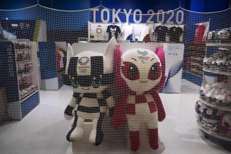 Larga espera para la venta de souvenirs de Tokio 2020