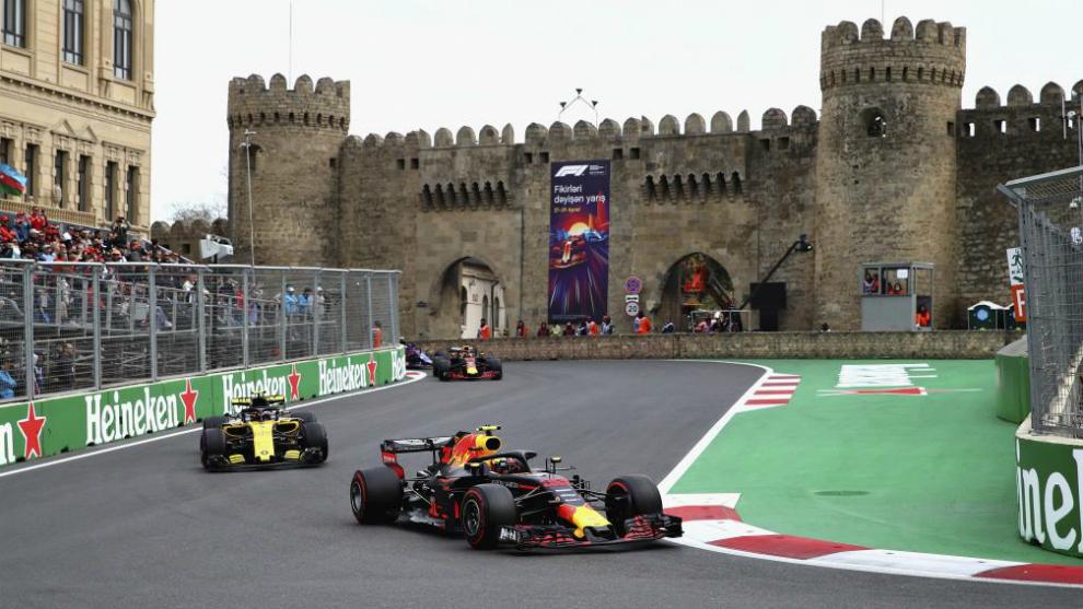 Se deja sentir ausencia de F1 en Azerbaiyán, motos en Cataluña y Vuelta a Suiza