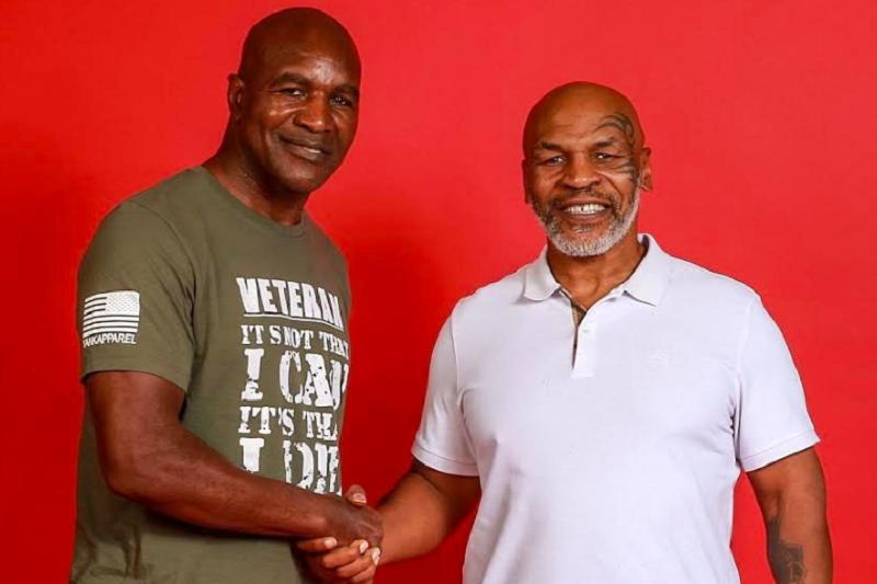 Holyfield en conversaciones con Tyson para una pelea benéfica por coronavirus
