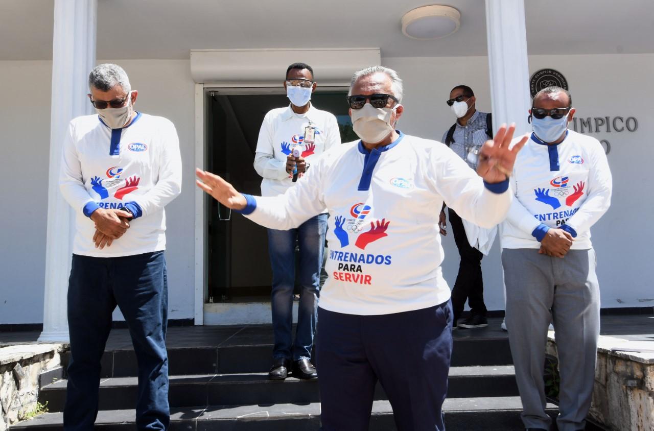 COD anuncia campaña por coronavirus y programa reapertura