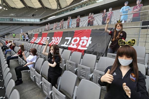 Multa récord para FC Seoul por usar muñecas sexuales como público