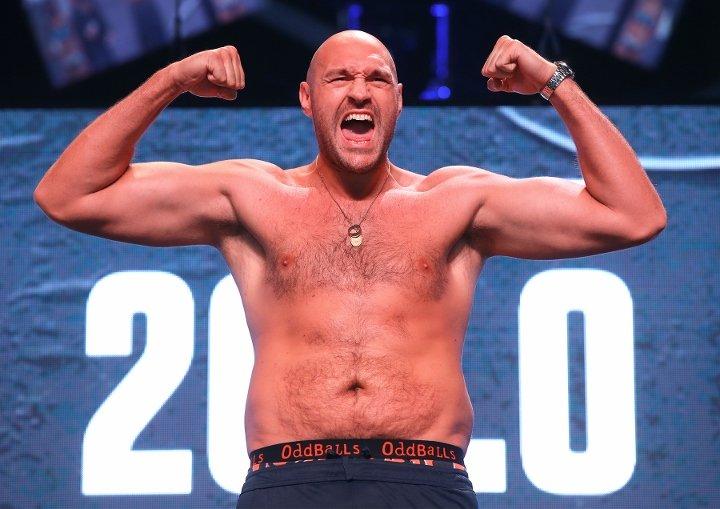 Tyson Fury planea pelear hasta los 40 años