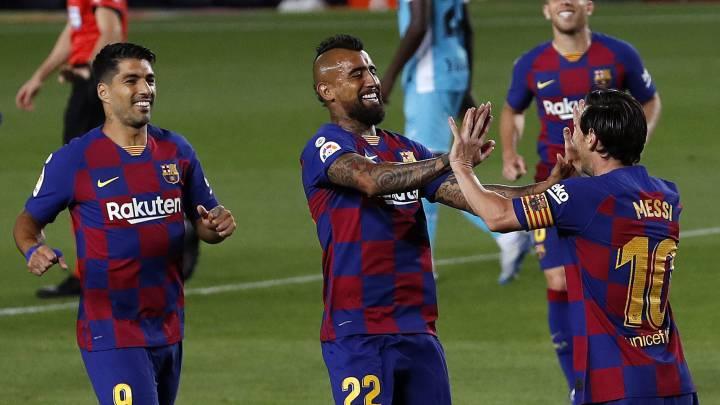 Barcelona vuelve a ganar en el Camp Nou luego de meses de ausencia