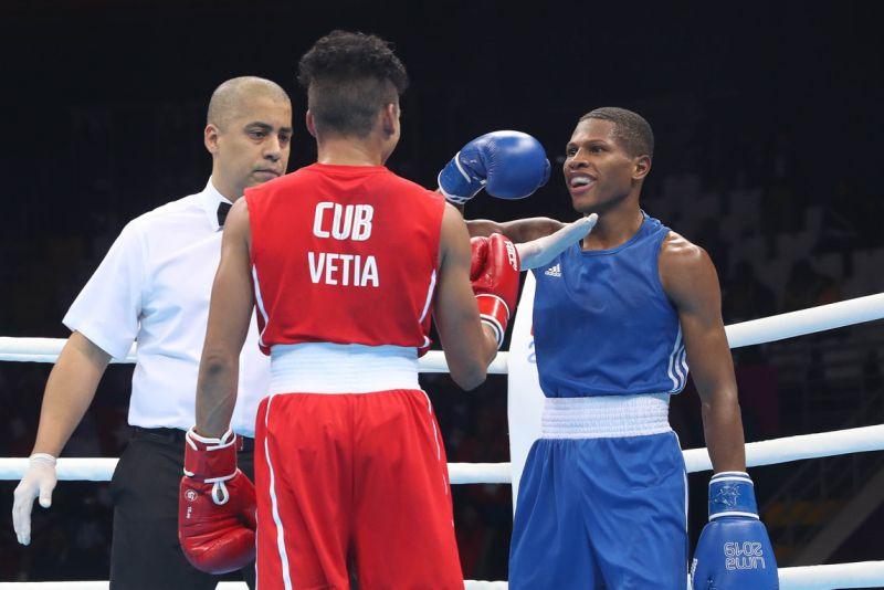 Camacho promete apoyar selección nacional de boxeo
