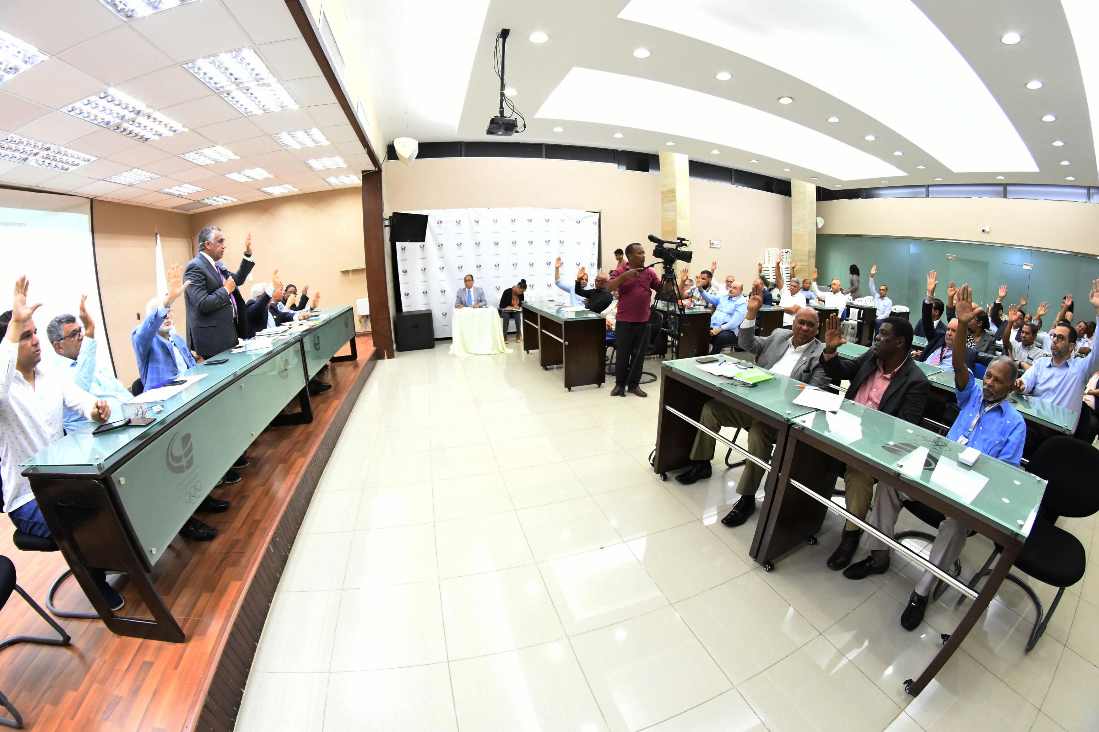 Asamblea de Federaciones del COD  aprueba a unanimidad presupuesto 2021
