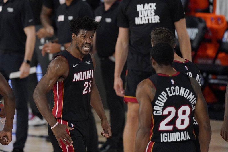 Miami pone contra la pared a Milwaukee; Houston derrota a los Lakers