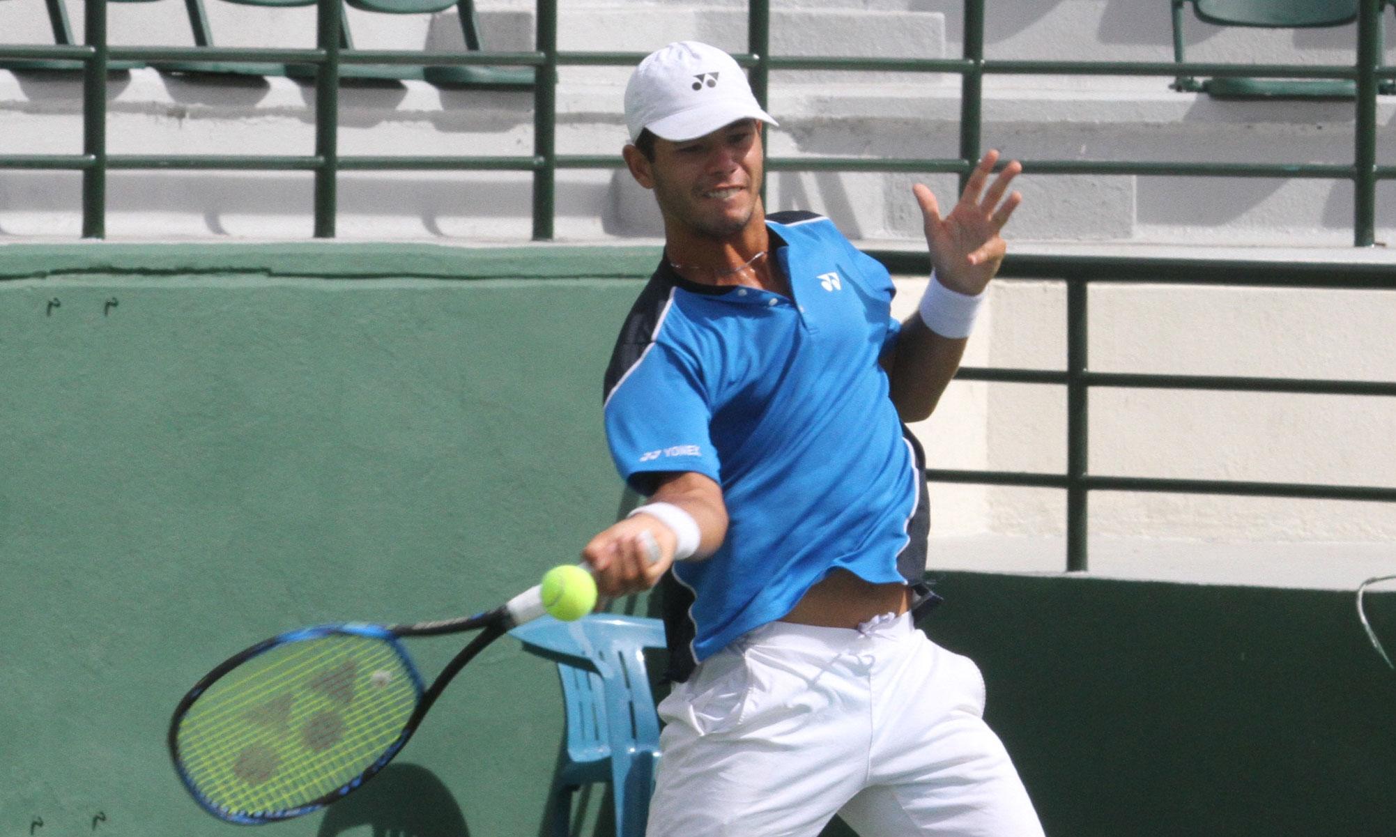 Tenista Nick Hardt resalta óptimas condiciones físicas para su regreso a cancha
