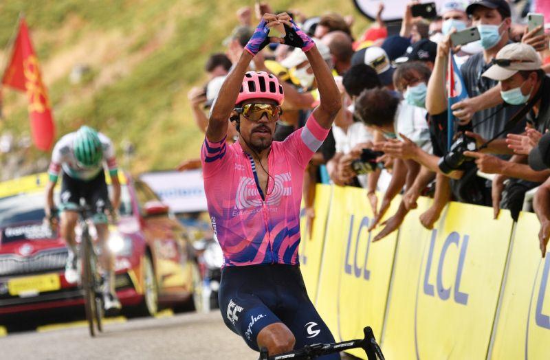 Colombiano Martínez conquista etapa 13 del Tour de Francia