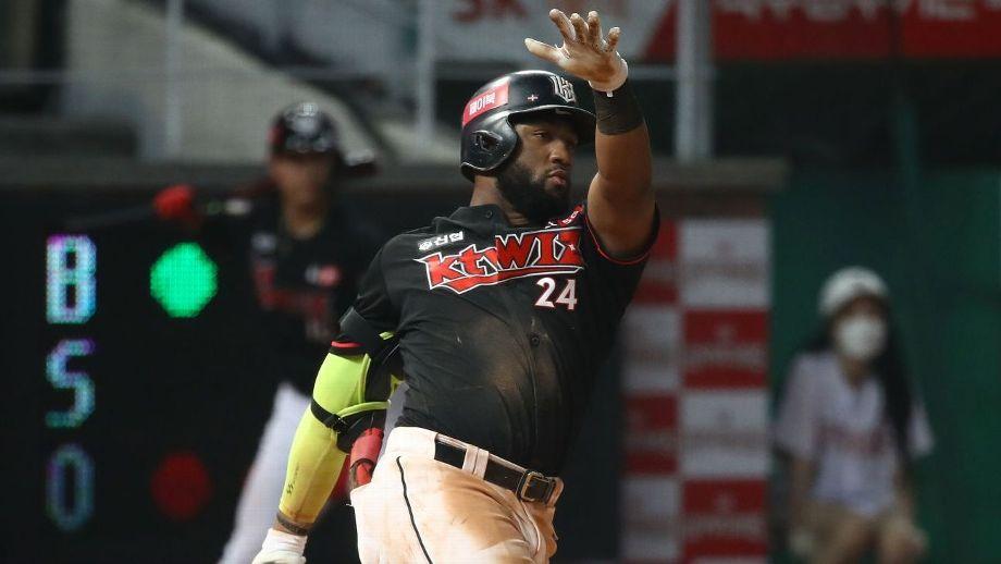 Mel Rojas Jr rumbo a su mejor temporada en Béisbol de Corea
