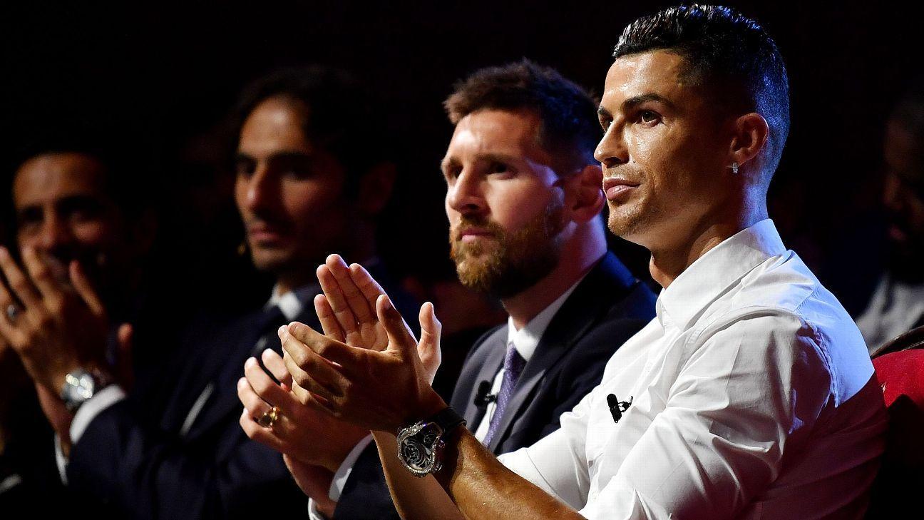 Messi y Cristiano encabezan lista de futbolistas mejor pagados en el 2020