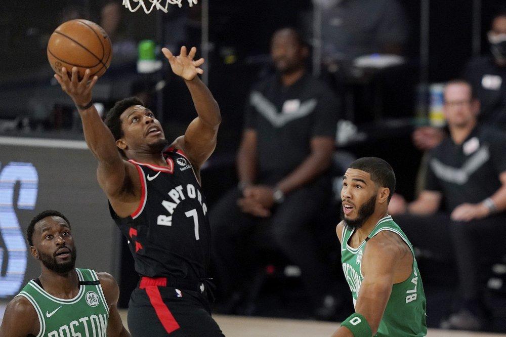 Con triple de Anunoby, Raptors reviven ante Celtics