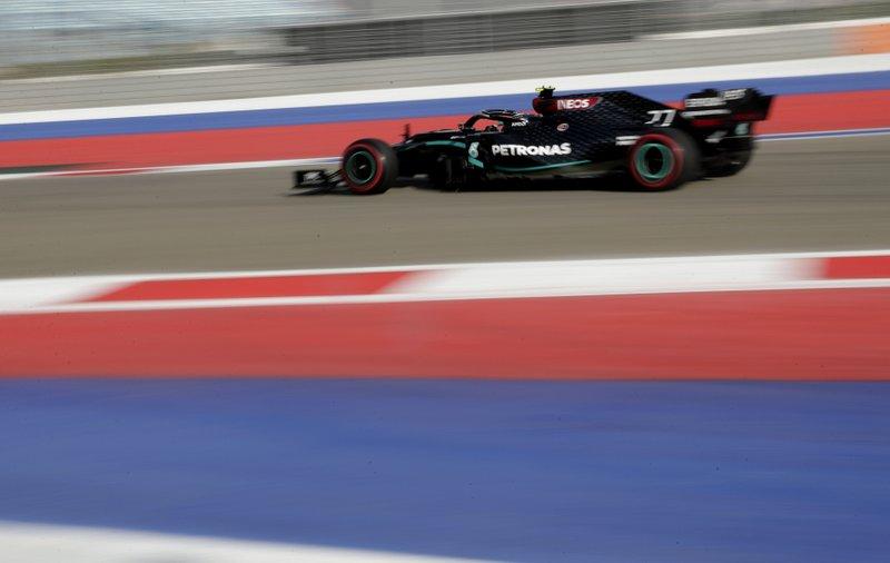 F1: Bottas, de Mercedes, domina prácticas para GP de Rusia