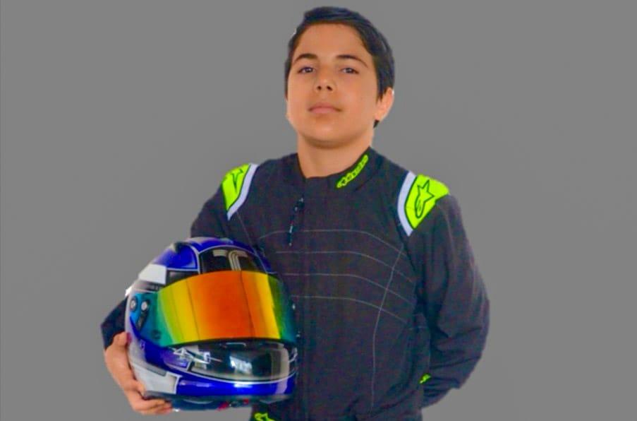 Piloto de 11 años representará a RD en competencia internacional de Kartismo
