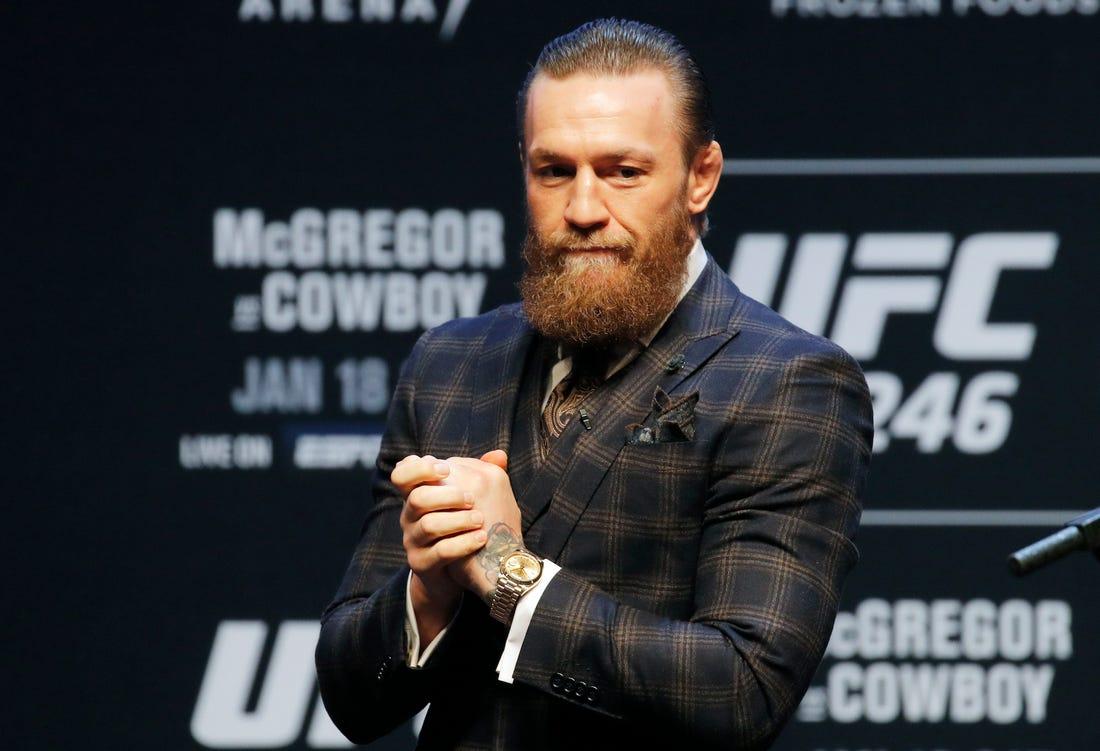 McGregor detenido en Francia como sospechoso de intento de agresión sexual