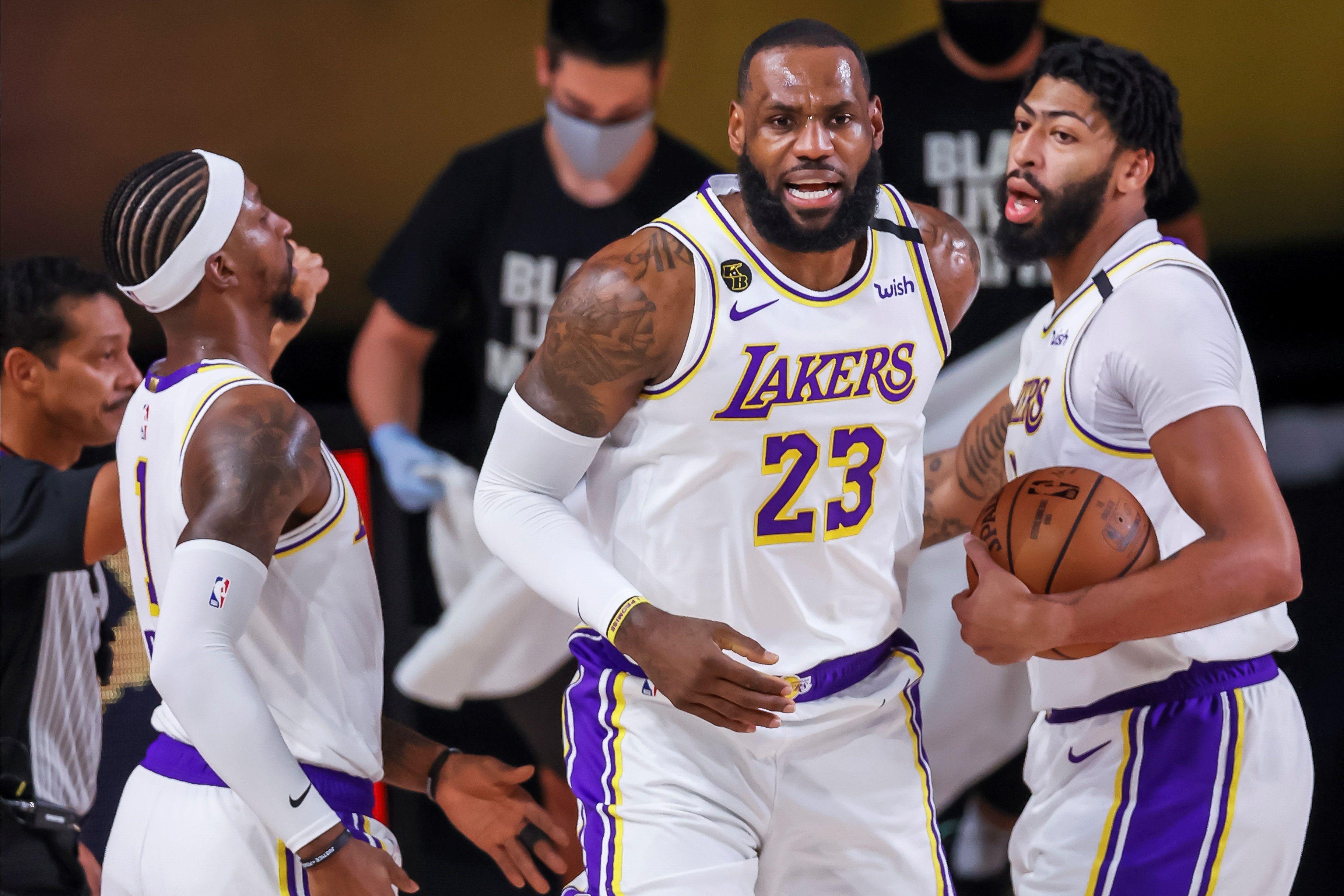 Lakers avanzan a la Final del Oeste por primera vez en una década