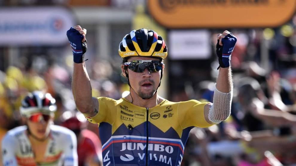 Roglic gana primera etapa del Tour de Francia