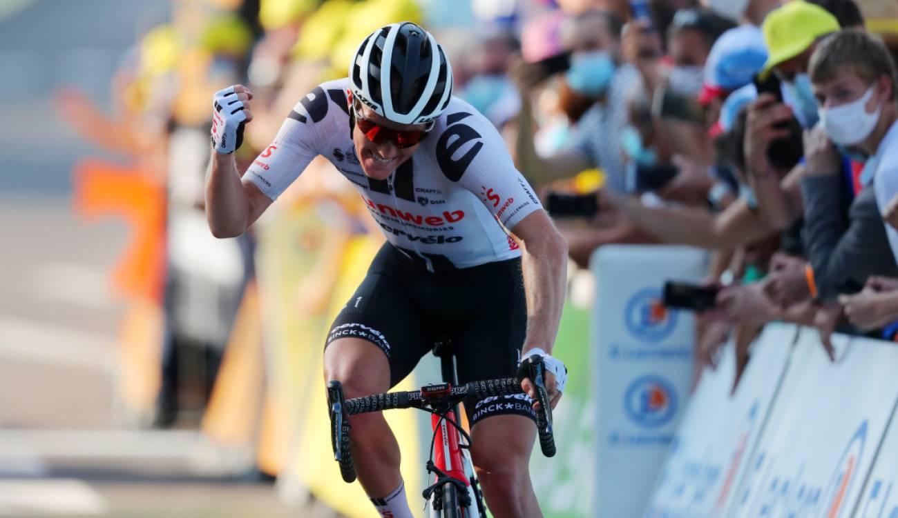 El danés Kragh Andersen conquista etapa 19 del Tour de Francia