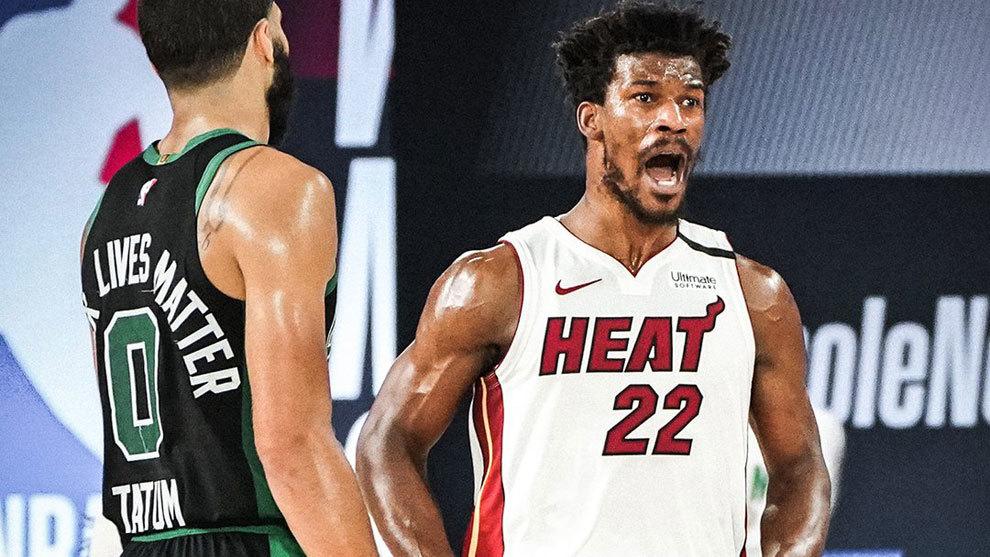 El Heat gana el segundo a Celtics en la final Conferencia Este