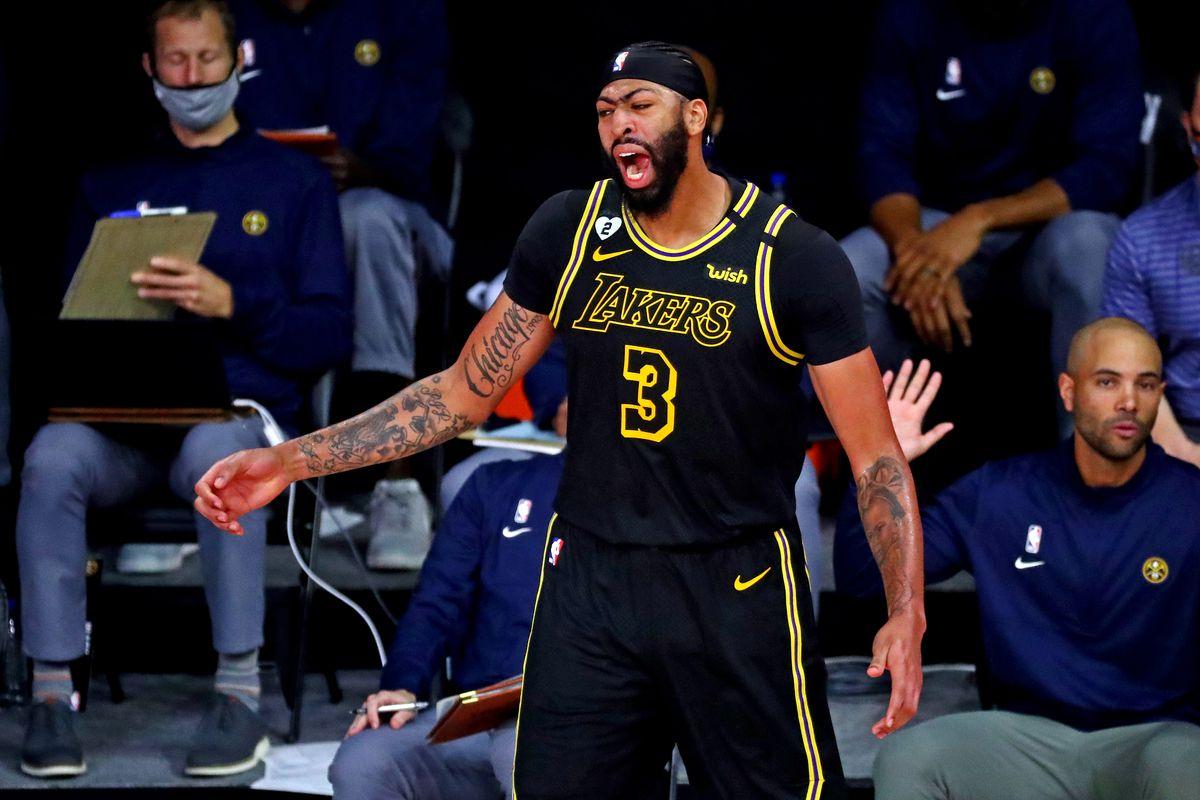 Anthony Davis protagoniza victoria de Lakers ante Nuggets