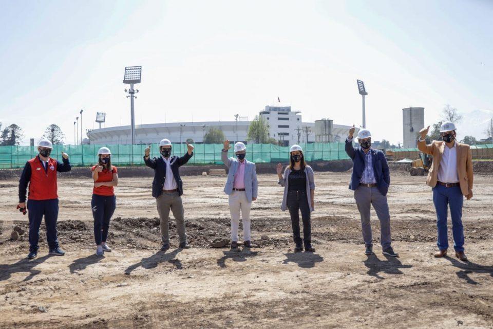 Autoridades visitan primeros avances infraestructura panamericanos 2023
