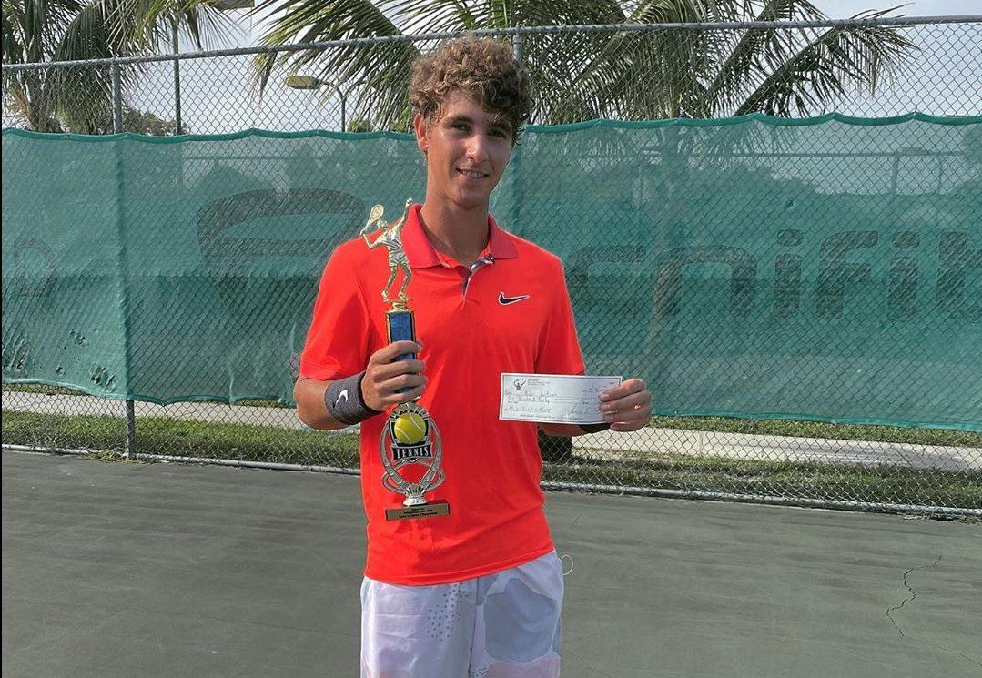 Peter Bertran campeón del Delray Prize Money Open