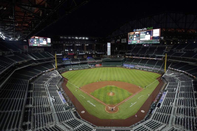 La Serie Mundial se jugará en burbuja en Arlington, Texas