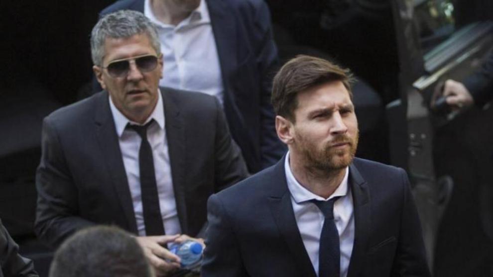 Jorge Messi no descarta que su hijo se quede en Barcelona