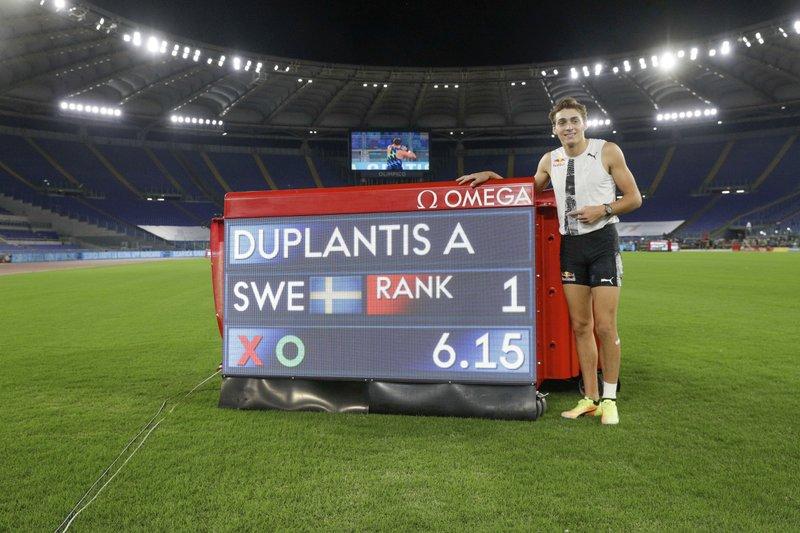 Duplantis bate el récord mundial de Bubka en pértiga
