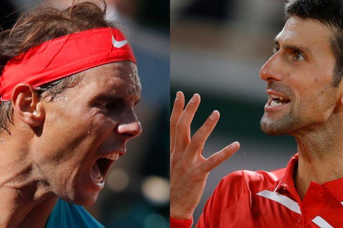 Nadal- Djokovic, la final del Roland Garros este domingo