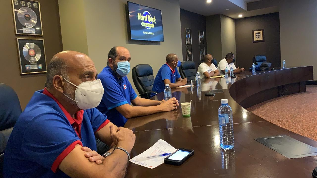"""Fiba-Américas realiza revisión de protocolo y logística """"burbuja"""" basket en Punta Cana"""